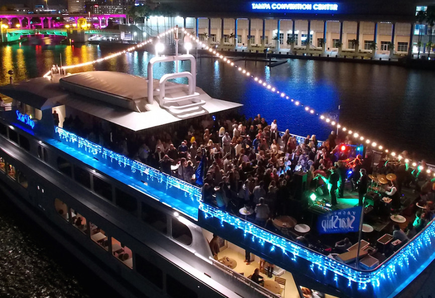 Rock The Yacht Live Music And Dj Party Cruises Yacht Starship