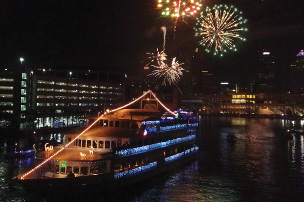 New Year's Eve Fireworks Cruises