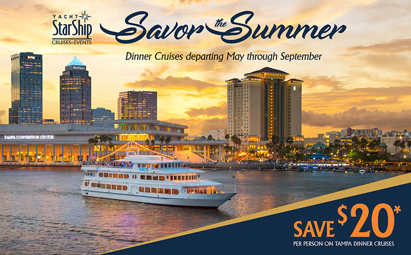 Cruises From Tampa >> Public Dining Cruises In Tampa Yacht Starship Cruises And Events