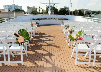 wedding chairs setup for ceremony