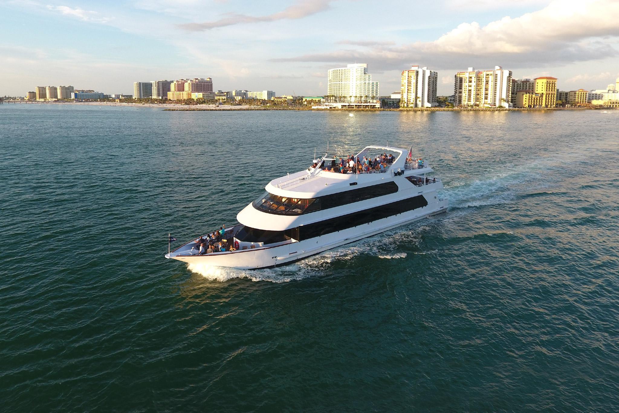 Sunset Cruises aboard Yacht StarShip