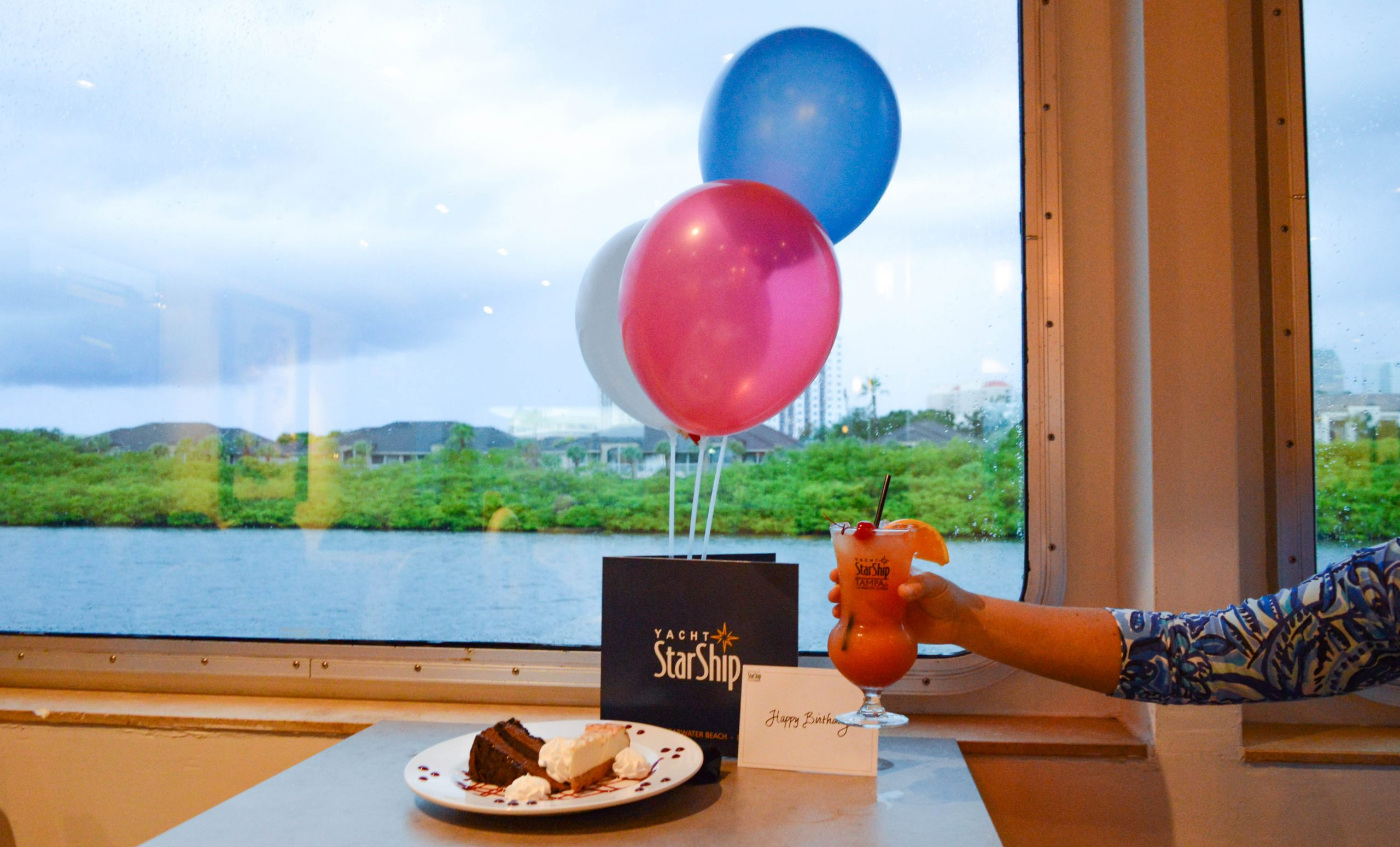 Birthday Celebration Package Yacht StarShip