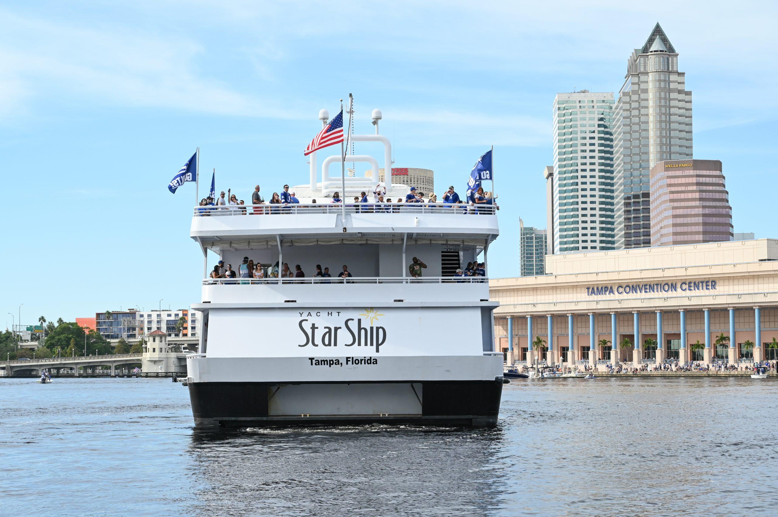 Birthday Party Aboard Yacht StarShip