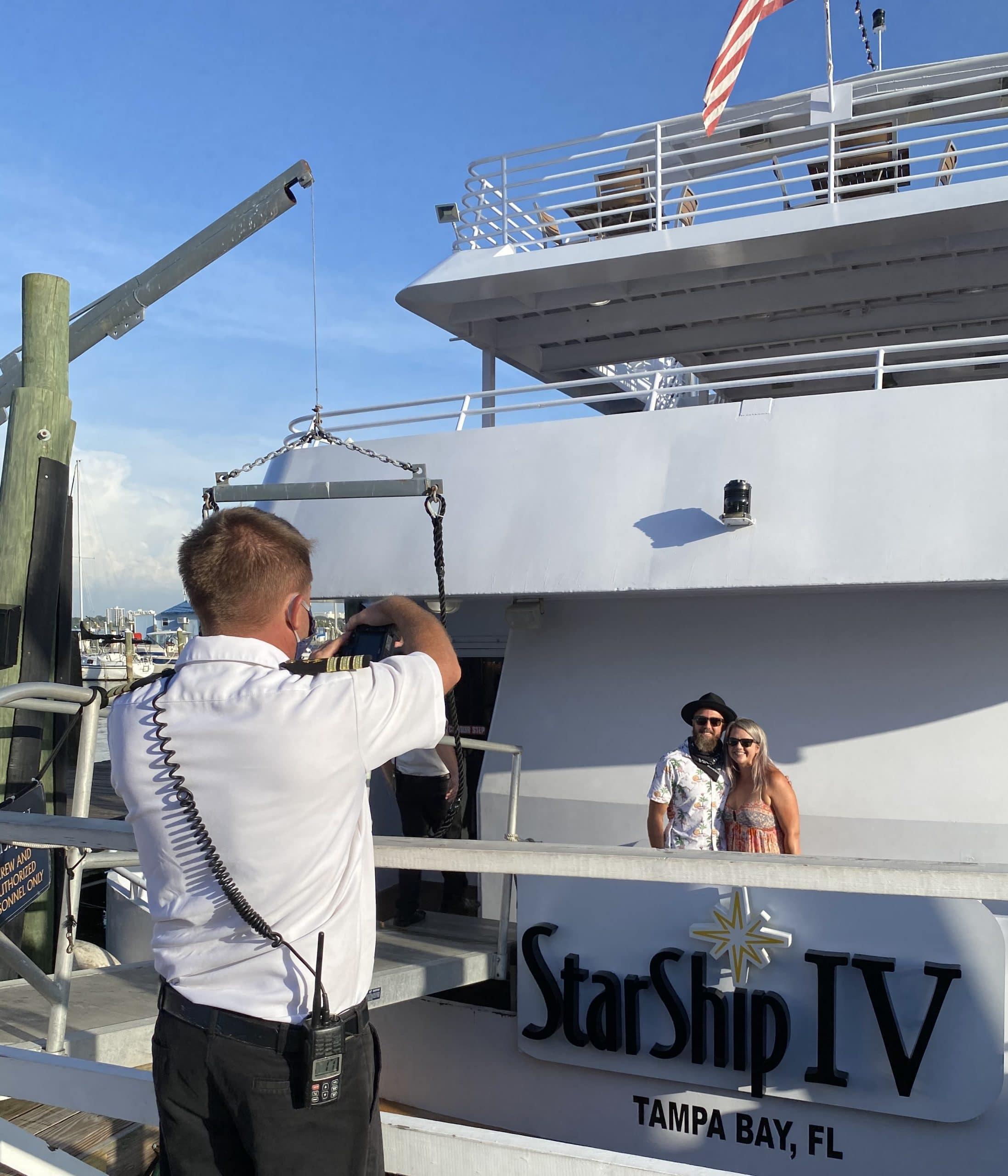 Boarding Photos aboard Yacht StarShip