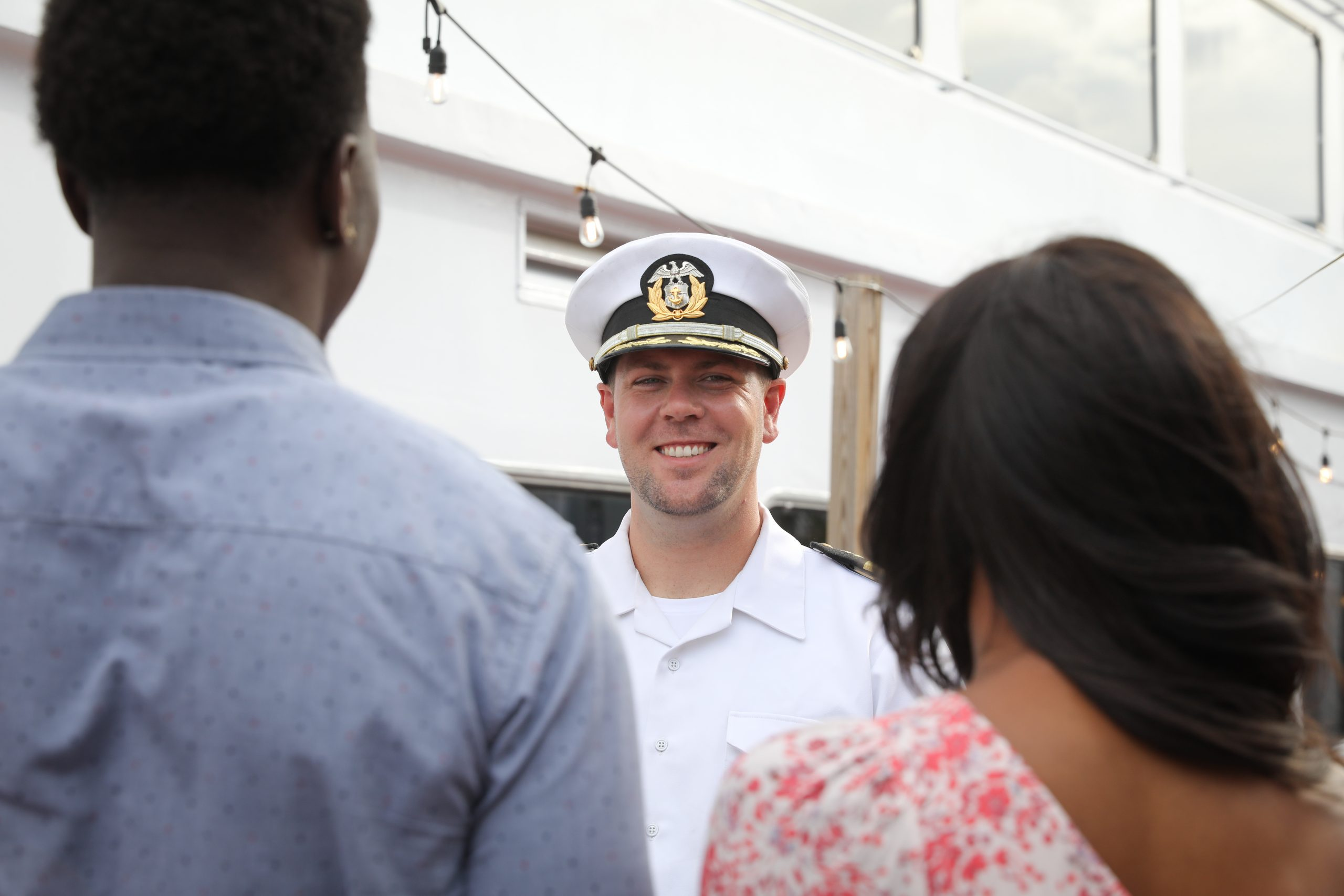 Boarding Yacht StarShip