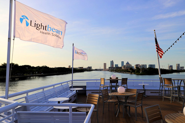 Corporate Event Cruise Top Deck
